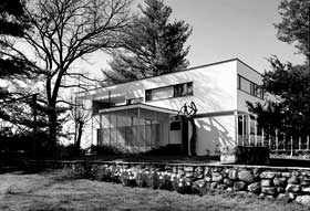 Bauhaus Architektur In USA   Walter Gropius Haus In Lincoln Massachusetts  1938