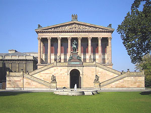 Alte Nationalgalerie in Berlin Mitte