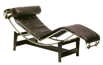 Bauhaus Liege - Chaiselongue Ic4 - Entwurf Le Corbusier