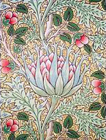 Jugendstil Tapete - Entwurf von John Dearly für William Morris