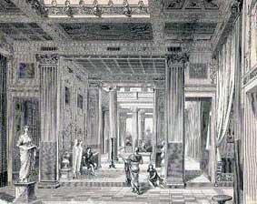 möbel in der römischen antike, Hause ideen