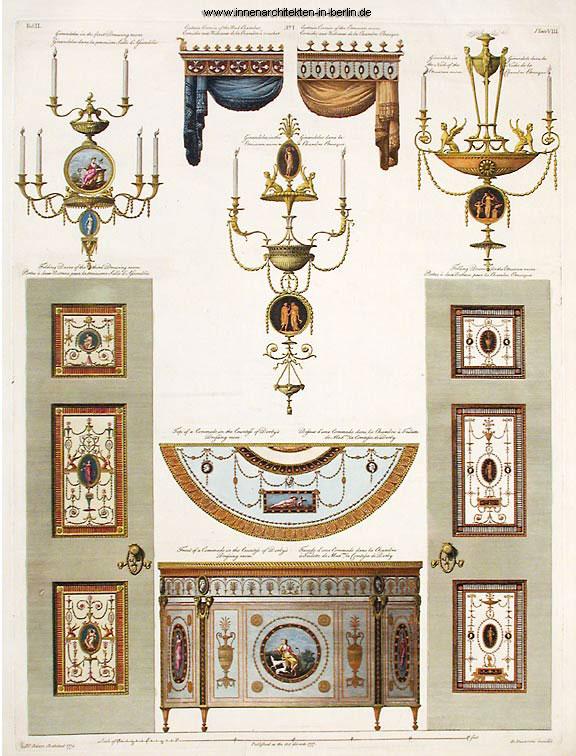 Robert Adam M 246 Belstil Und Einrichtung Adam Stil England