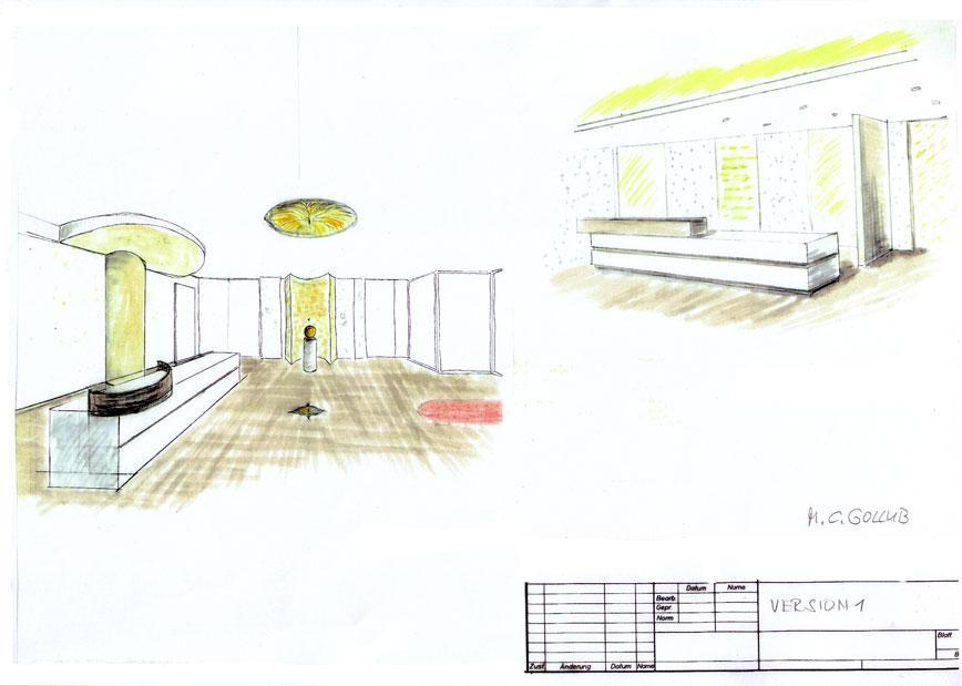 Einrichtung reiseb ro design entwurf innenarchitekt berlin for Innenraum design berlin