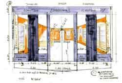 einrichtung ladengesch ft juwelier design entwurf. Black Bedroom Furniture Sets. Home Design Ideas
